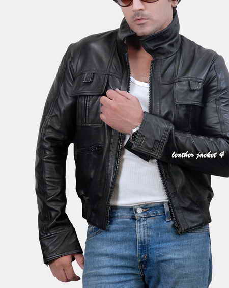 Jbross Biker Leather Jacket