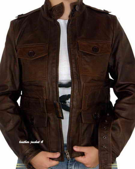 International Biker Leather Jacket