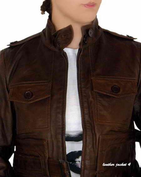 International Biker Leather Jacket