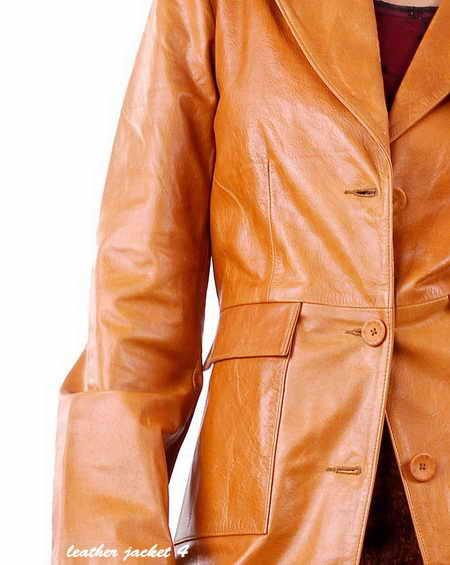 Longline Leather Jacket