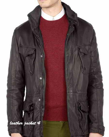 Los Angeles Washed Leather Jacket