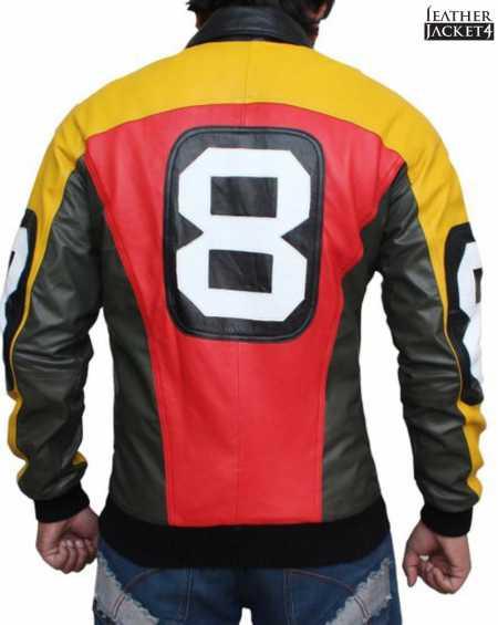Mens Bomber 8 Ball Jacket