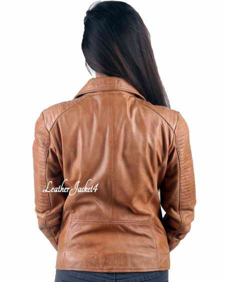 Mila Kunis Biker Leather Jacket