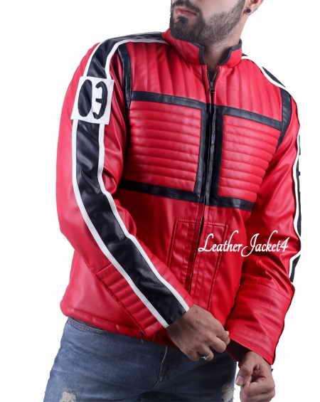 My Chemical Romance Kobra Kid Mikey Way Leather Jacket