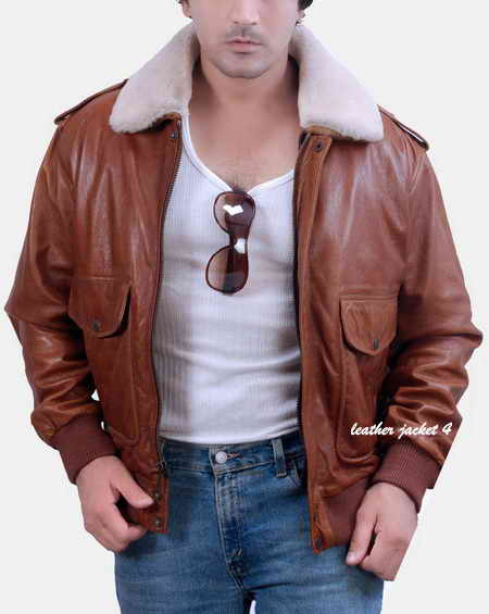 Pilot Leather Flight Jacket Type G-1