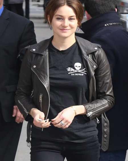 Shailene Woodley Insurgent Black Jacket