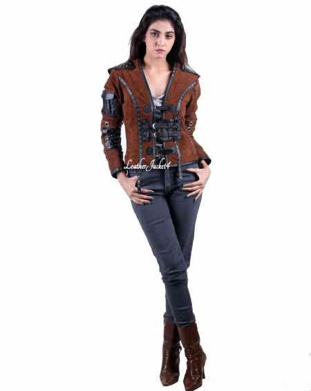 Shannara Chronicles Eretria's replica leather jacket