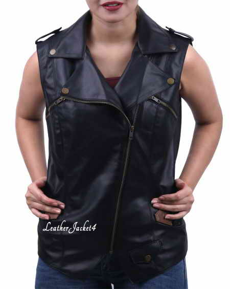 Women sleeveless jacket