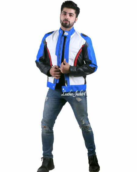Overwatch video game soldier 76 jacket
