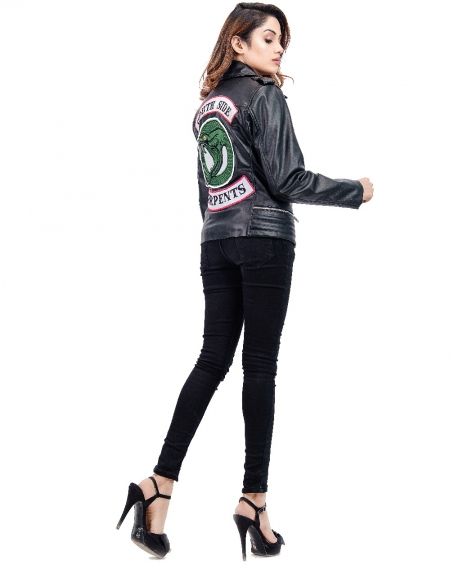Womens SSS Jughead Jones Riverdale Southside Serpents Jacket