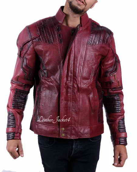 Star Lord Chris Pratt Guardians of the Galaxy Jacket 2