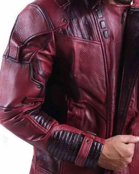 Star Lord Chris Pratt Guardians of the Galaxy Jacket 2