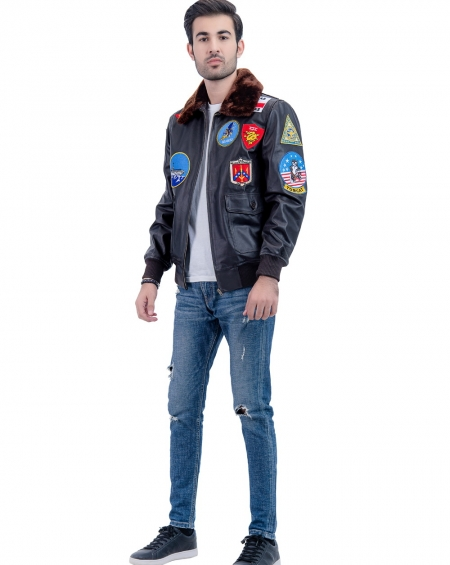 Top gun pilot jacket, Tom Cruise fighter pilot jacket