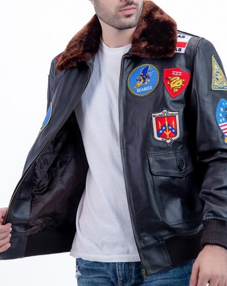 Top gun pilot jacket, Tom Cruise fighter pilot jacket