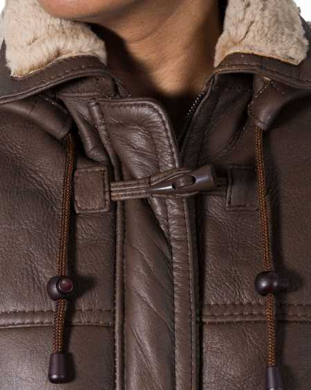 Women Brown And Ginger Coat