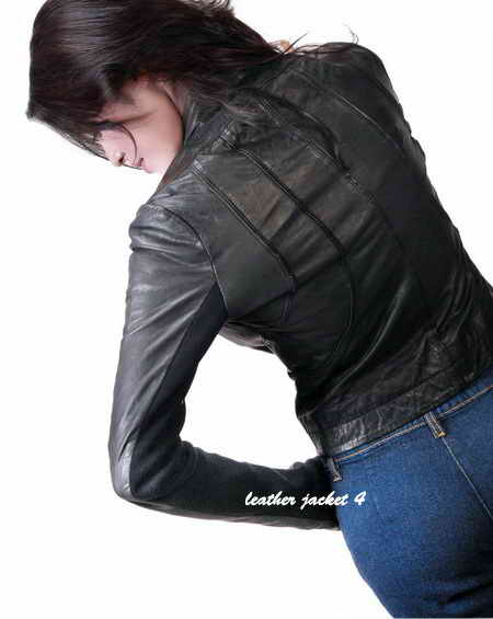 Women Un-lined Leather Jacket