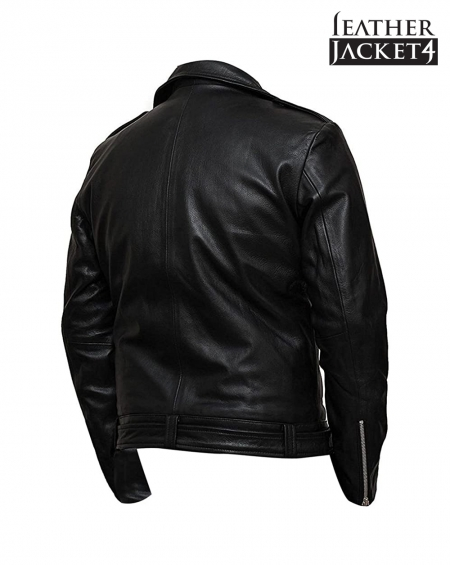 The Walking Dead Negan Black Motorcycle Jacket