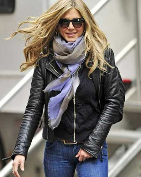 Wanderlust Jennifer Aniston Leather Jacket