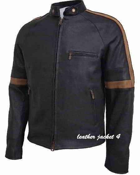 Similar Bison Hero Leather Jacket Black