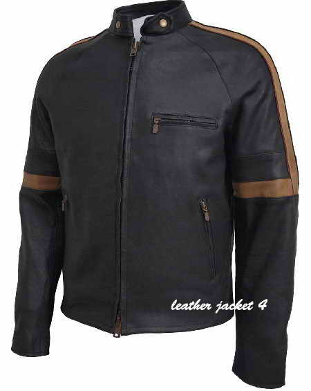 Similar Bison Hero Leather Jacket Black