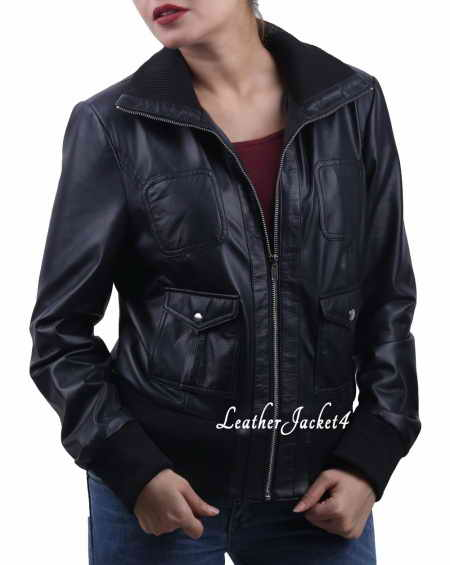 Warm biker jacket