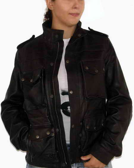 Hand Waxed Leather Jacket