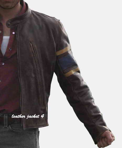 X Men Wolverine Leather Jacket