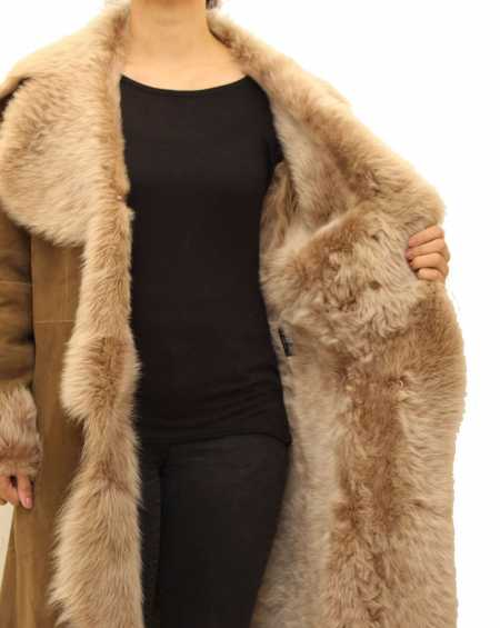 Women Luxury Toscana Waterfall Coat
