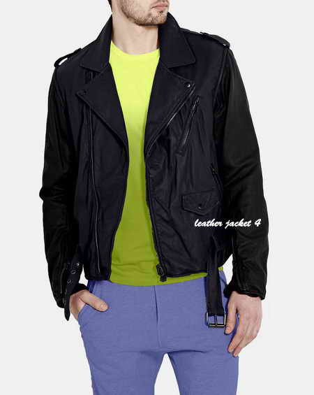 Gilter Biker Leather Jacket