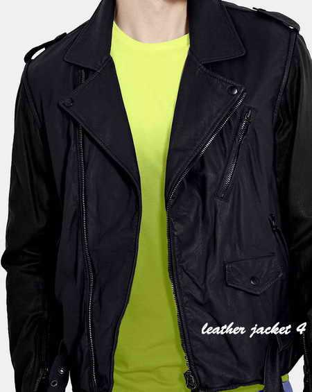 Gilter Biker Leather Jacket