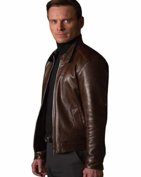 X-Men First Class Michael Fassbender Jacket