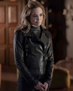 Caity Arrow Season 08 Caity Lotz Leather Jacket