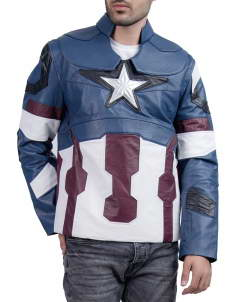 Avengers-2018 Captain America Jacket