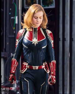 Captain-Marvel Captain Marvel Carol Danvers Leather Jacket