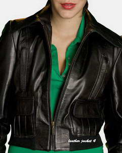 Chelles Black Sleek Leather Jacket