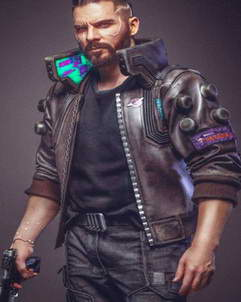 Cyberpunk 2077 Samurai Character V Light-up Jacket