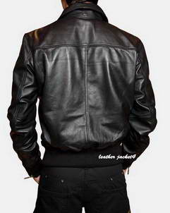 DGRust trendy leather jacket
