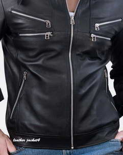 Dior Dior light weight bomber leather jacket