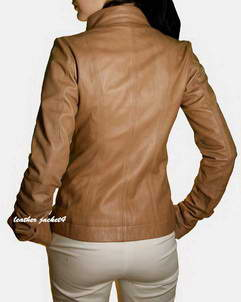woman leather jacket