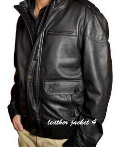 Ferrand Give your casual looks a smart finish in this leather jacket
