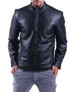 Homme leather jacket