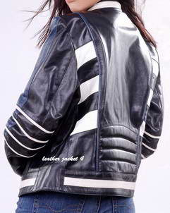womens motorbike leather jacke