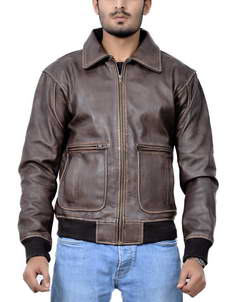 Joe Biden Aviator Leather Jacket