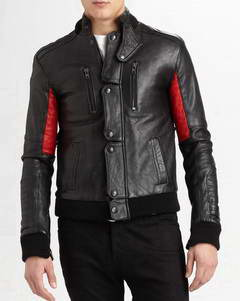 Champ kid cudi champ leather jacket