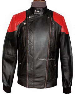 Fire leather jacket