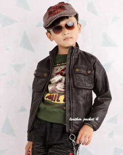 Toddler Toddler leather jackets