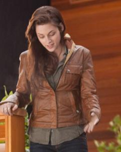 Kristen-Stewart Bella Swan Twilight Movie Kristen Stewart Leather Jacket