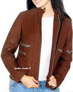 Lassie Women brown jacket