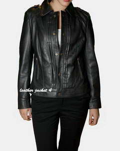 Rouen leather jackets for womens