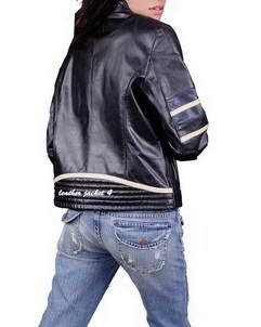 womens moto leather jacket